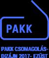 Pakk Csomagolás-Design 2017 - Ezüst
