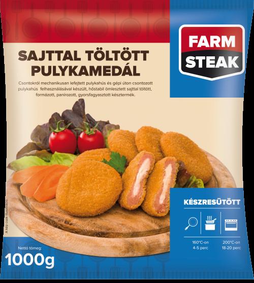 Farm Steak Sajttal töltött pulykamedál