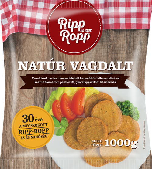 Ripp-Ropp Natúr vagdalt 1000g