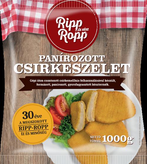 Ripp-Ropp Panírozott csirkeszelet