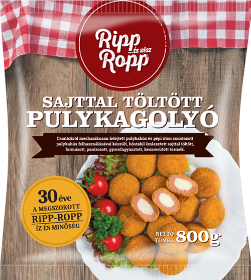 Ripp-Ropp Turkey Balls with Cheese Filling