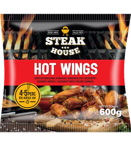 Steak House Hot wings