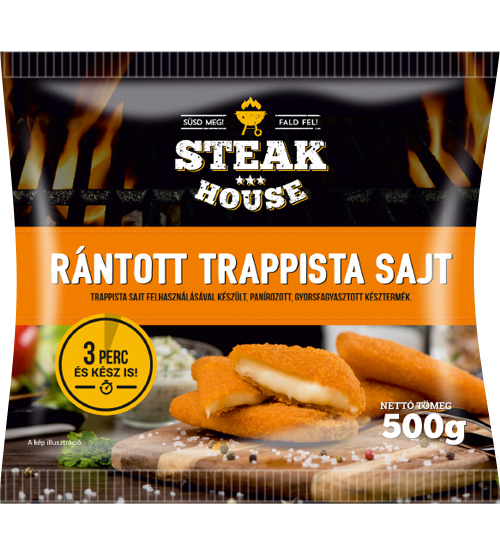 Steak House Breaded Trappista Cheese