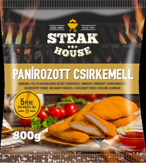Steak House Panírozott csirkemell